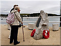 SW8033 : Operation Chariot Memorial, Falmouth by David Dixon
