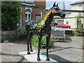 TQ5355 : How Many Times Can He Turn His Head?, Herd of Hospice by Oast House Archive