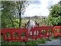 TQ8690 : New footbridge, not yet open by Robin Webster