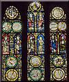 SP2864 : Vestry east window, St Mary's church, Warwick by Julian P Guffogg