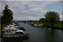SP4907 : Boatyard at Medley by Christopher Hilton