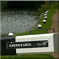 SK4741 : At Green's Lock, Erewash Canal by Alan Murray-Rust