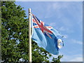 TM0639 : The flag of the Royal Air Force still flying by Adrian S Pye