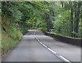 SS5117 : A3124 through Deershill Wood by J.Hannan-Briggs