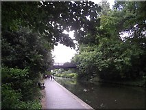 TQ2783 : Primrose Hill Bridge crosses the Regent's Canal by Tim Glover