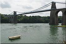 SH5571 : Menai Suspension Bridge by Stephen McKay