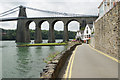 SH5571 : Beach Road, Menai Bridge by Stephen McKay