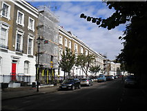 TQ3084 : West side of Thornhill Square, Barnsbury by Richard Vince