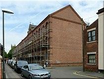 SK4641 : Rutland Mills, Market Street by Alan Murray-Rust
