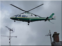 H6357 : Helicopter above Ballygawley by Kenneth  Allen