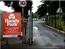 H4573 : Handy Park, Omagh by Kenneth  Allen