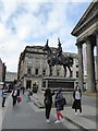NS5965 : A popular subject for photographers, the Duke of Wellington statue by David Smith