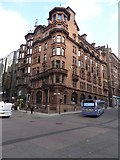NS5865 : Victorian architecture on the corner of St Vincent Place and Hope Street by David Smith