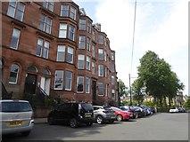 NS5667 : Terraced Houses on Kirklee Quadrant by David Smith