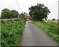TM2842 : Hemley: cottages on Church Lane by John Sutton