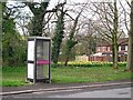 NY4255 : Unusable telephone box, Geltsdale Avenue by Rose and Trev Clough