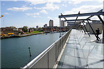 NZ4057 : The River Wear by the National Glass Centre by Bill Boaden
