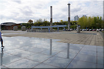 NZ4057 : The roof of the National Glass Centre by Bill Boaden