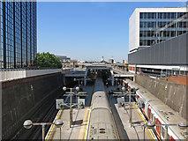 TQ0584 : Uxbridge tube station (2) by Mike Quinn