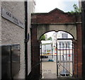ST1600 : Former school archway, Honiton by Jaggery