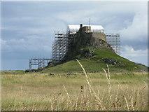NU1341 : Lindisfarne Castle by M J Richardson