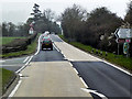 SO1493 : Road Junction on the A483 near to Llanmerewig by David Dixon