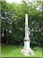 NT3272 : Monumental obelisk at Newhailes by David Smith