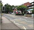 SU4320 : Hursley Road pelican crossing, Chandler's Ford by Jaggery