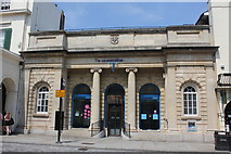 TL9925 : Co-op Bank, Albert Hall Building, High Street, Colchester by Jo Turner