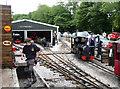 SJ9557 : Leek and Rudyard Railway by Chris Allen