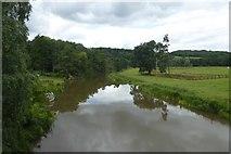 SE7365 : Upstream from Kirkham Bridge by DS Pugh