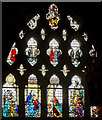 SX9292 : Nativity window, Exeter Cathedral by Julian P Guffogg