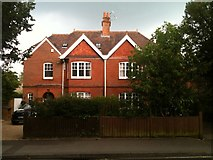 SU6351 : Houses in Cliddesden Road by Sandy B