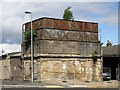 NY9464 : The old water tower at Hexham Station (3) by Mike Quinn