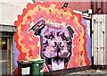 J3474 : Street art,  Pottinger's Entry, Belfast (August 2017) by Albert Bridge