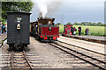 SK2406 : Statfold Barn Railway - non-stop on the middle line by Chris Allen