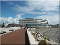 SD4264 : Morecambe, Midland Hotel by Mike Faherty