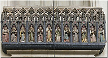 SX9292 : Minstrels' Gallery, Exeter Cathedral by J.Hannan-Briggs