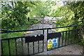 SK1764 : Gateway to Settling Ponds by Nigel Mykura