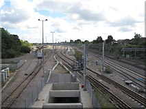 TQ1980 : Acton crossrail diveunder, view East 2017 by David Hawgood