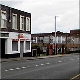 SO8555 : The Filling Station, Shrub Hill Road, Worcester by Jaggery
