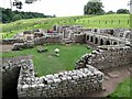 NY9170 : Remains of Bath House, Chesters Roman Fort by Andrew Curtis