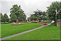 SK3447 : Belper War Memorial Gardens by John Sutton