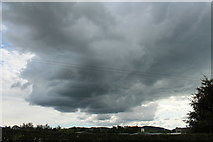 NX9575 : Black Cloud over Garden Wise, Dumfries by Billy McCrorie