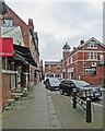 SK3447 : Belper: in Strutt Street by John Sutton