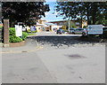 ST1480 : Entrance to Velindre Cancer Centre, Whitchurch, Cardiff by Jaggery