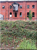 SK3436 : Derby: the derelict Friargate Goods Warehouse by John Sutton
