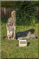 SE5850 : The Hob Stone and Plague Stone by Ian Capper