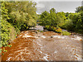 SD7912 : River Irwell at Burrs by David Dixon