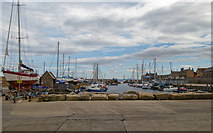 NJ2371 : Lossiemouth Harbour by valenta